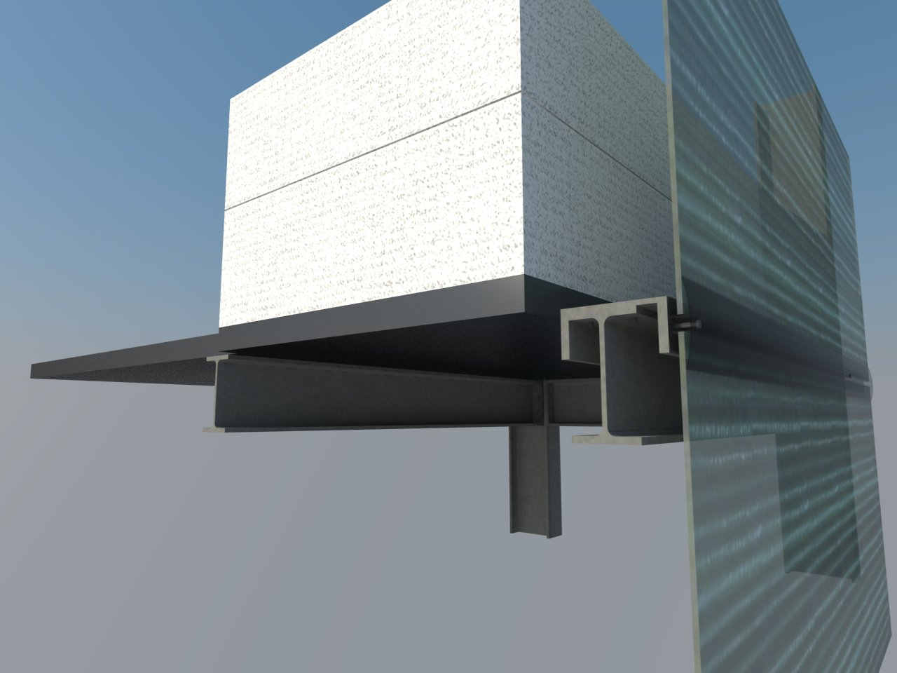 3D Visualization of the Facade Detail